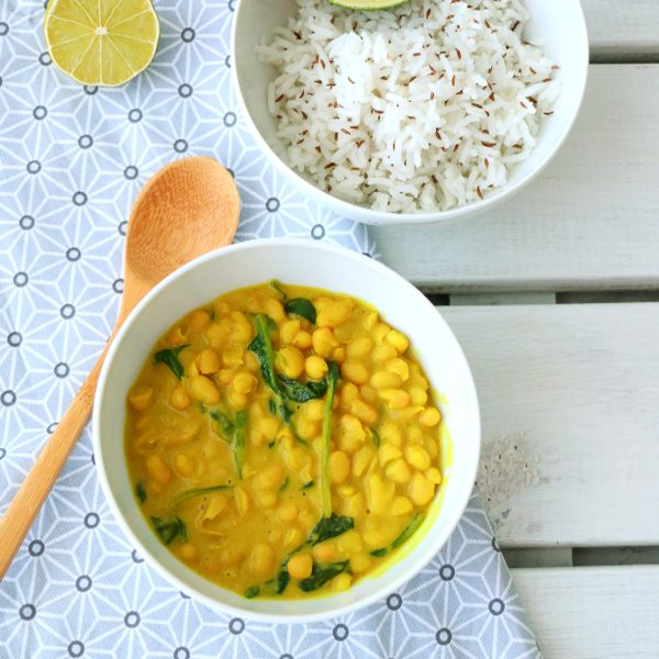 Curry de Haricots Blancs