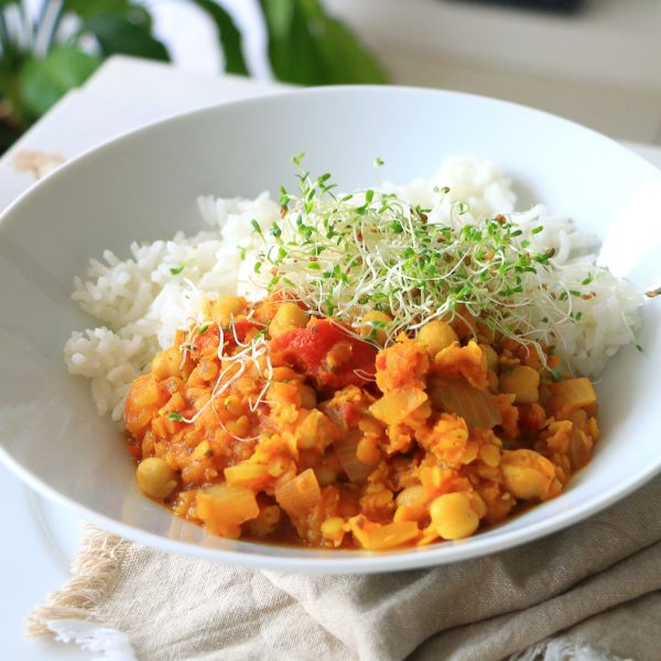 Harira Inspired Curry