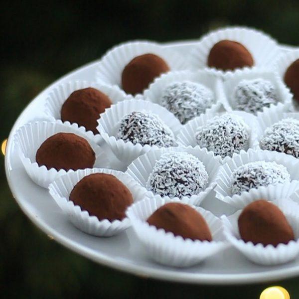Truffes au chocolat vegan