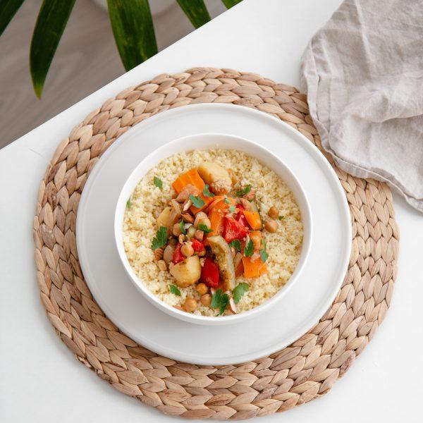 Couscous aux légumes (vegan)