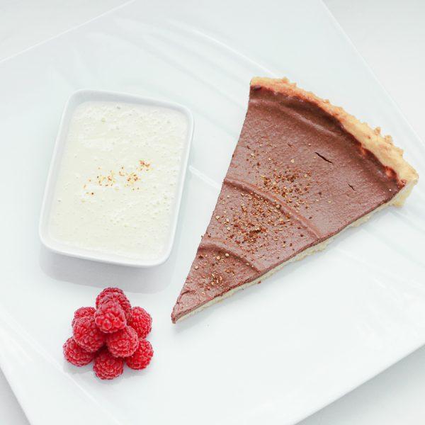 Tarte au chocolat (vegan)